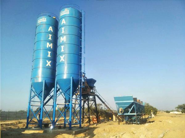 100 Ton welded uri ng semento silos sa Pakistan