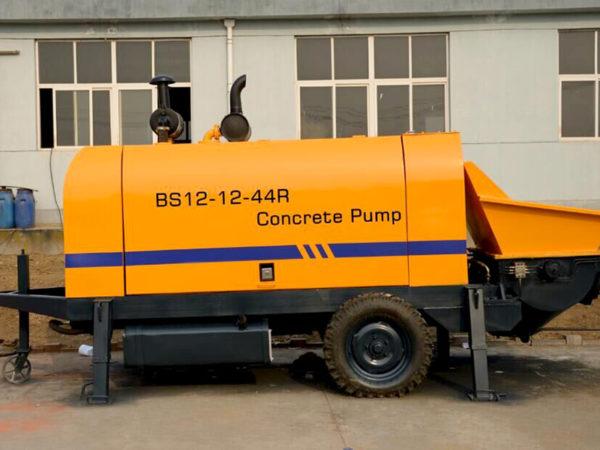 12m3 diesel concrete pump 9.9W