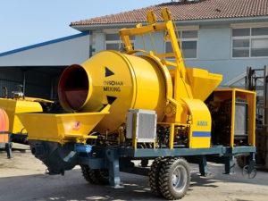 Mobile Concrete Mixer Pump