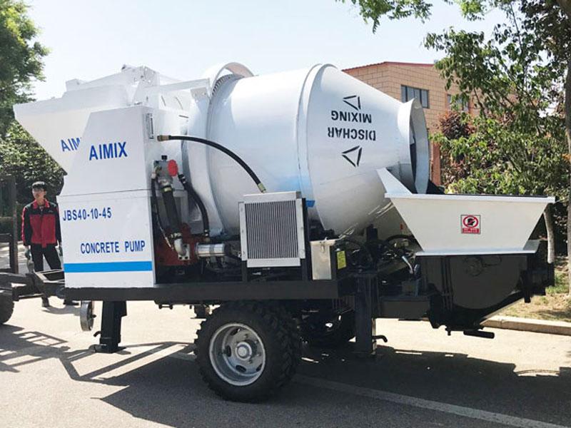 Mobile Concrete Pump For Sale
