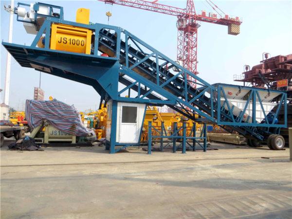 YHZS 60 concrete mixing plant