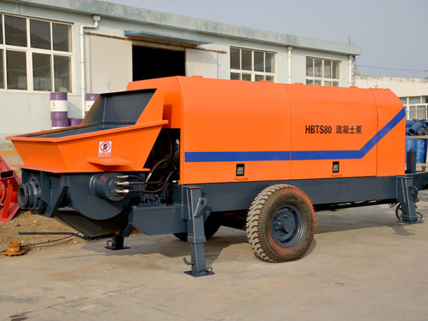 diesel engine trailer pump machine
