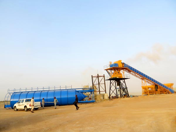 hzs60-concrete-batching-plant