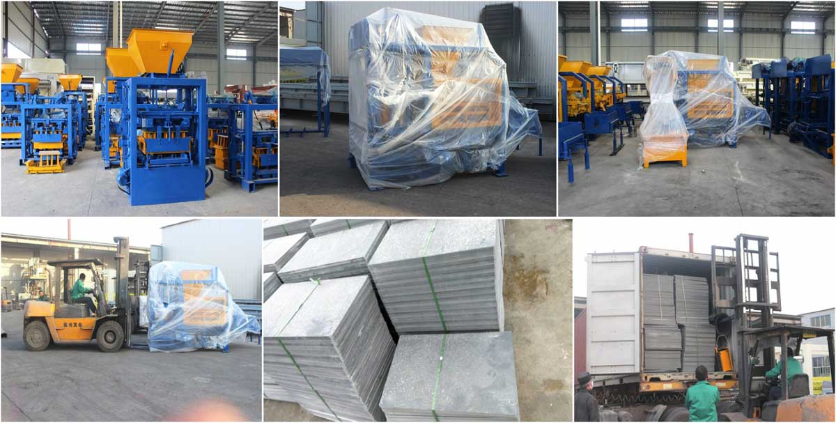 Deliver cement block making machine To Philippines