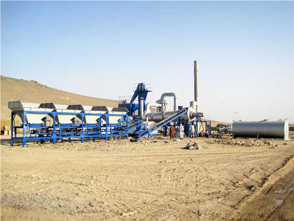 small asphalt drum mix plant