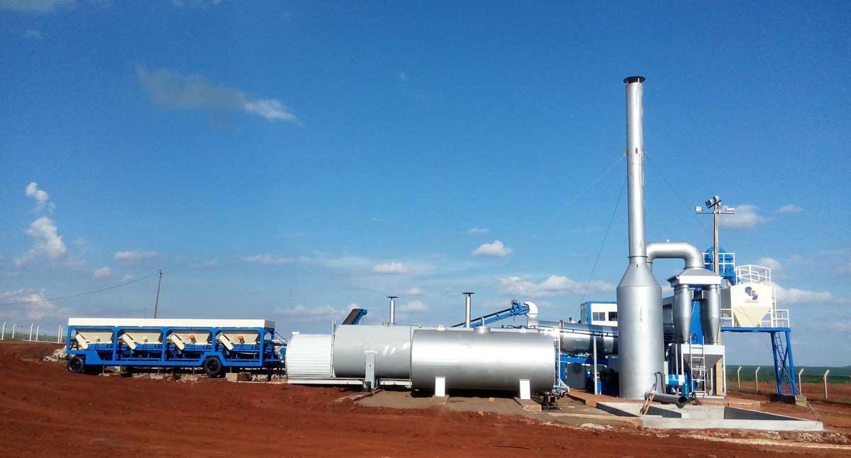 DHB60 drum plant