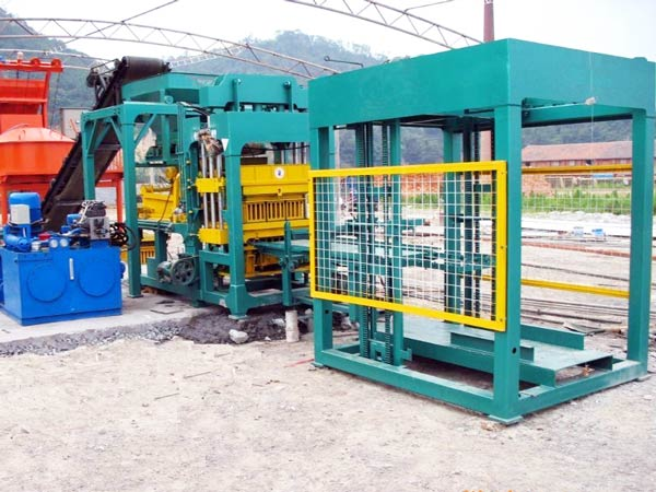 ABM-8S cement block machine