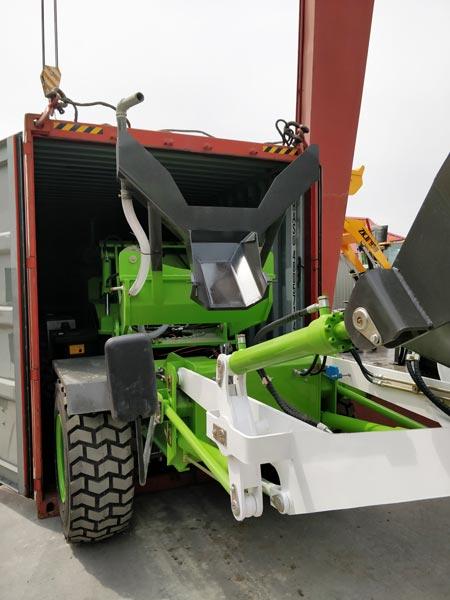 3.2cub self loading mixer machine