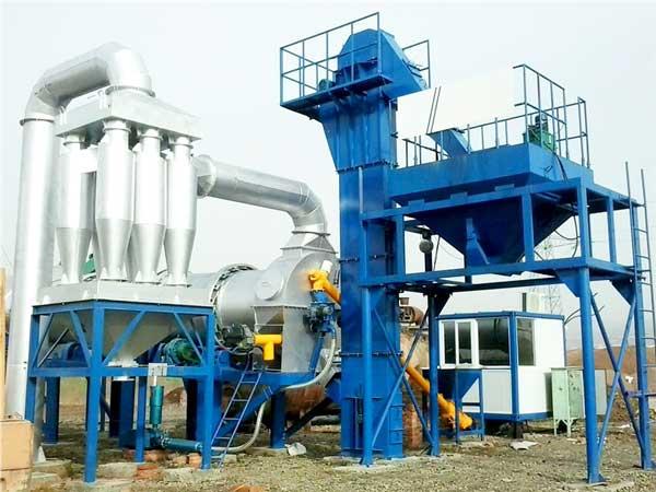 DHB80 stationary asphalt plant
