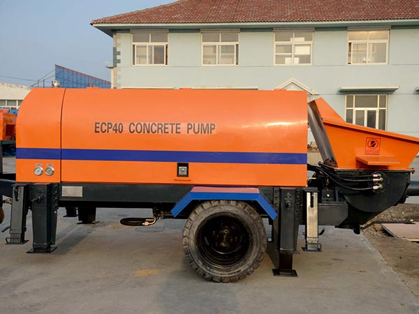 HBT40 trailer concrete pump