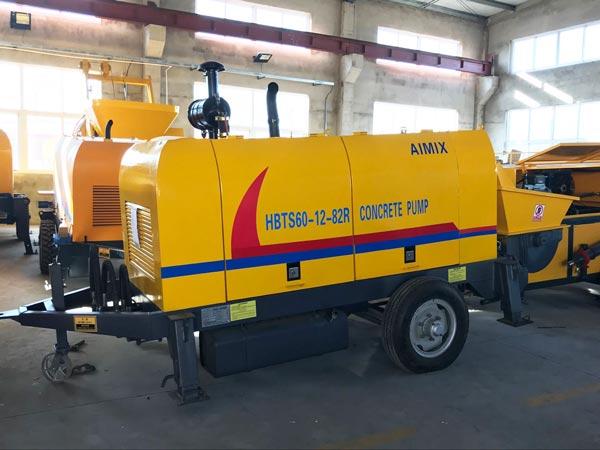 HBTS60R diesel engine pump machine