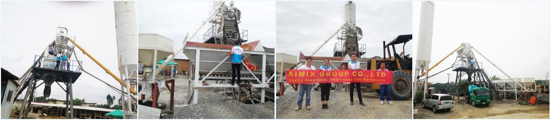AJ-50 wet mix plant in philippines