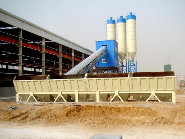 AJ-90 wet mix concrete batch plant for sale