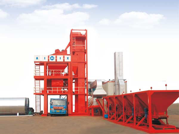 LB800 stationary asphalt plant