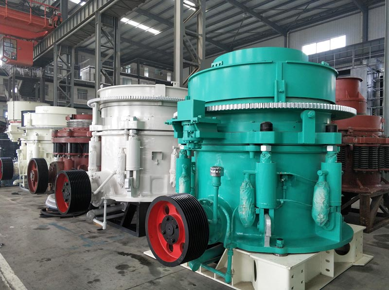 multi-cyclinder cone crusher