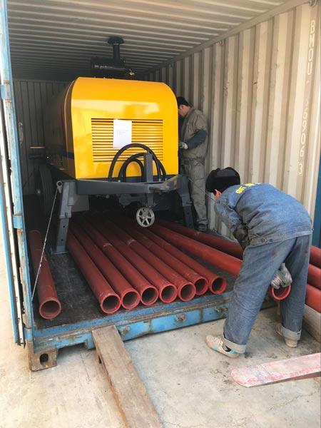 transport diesel engine pump