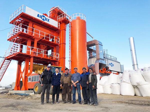 LB1200 asphalt hot mix plant