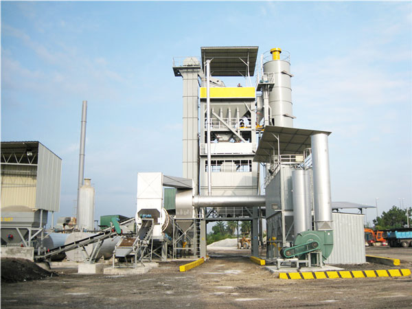 LB1500 asphalt hot mix plant