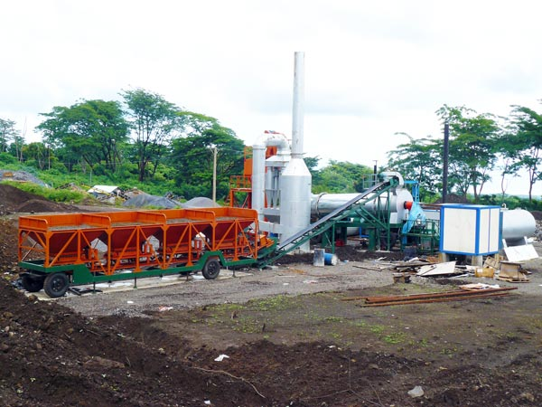 QLB60 mini asphalt plant for sale