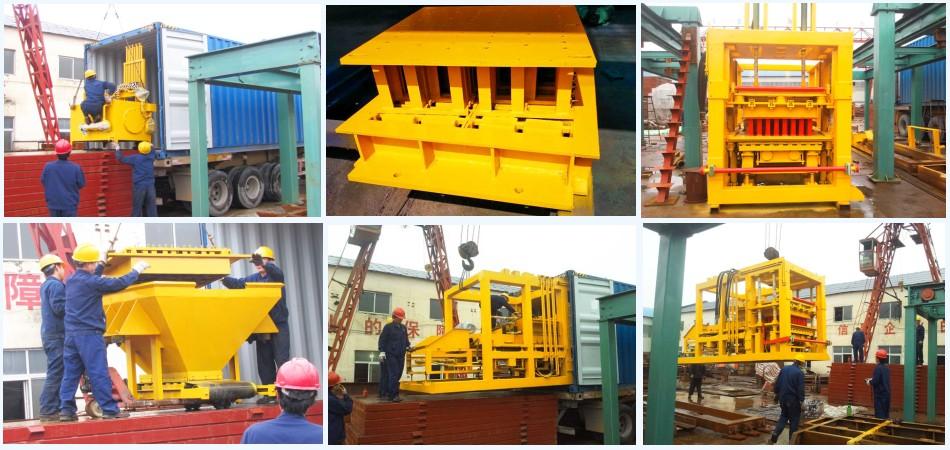 deliver block machine to Philippines