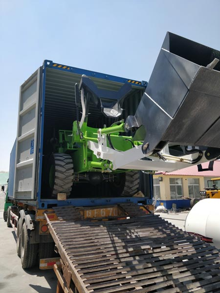 1.8 loading mixer machine