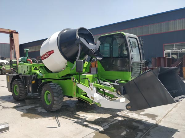 1.8cub loading mixer machine