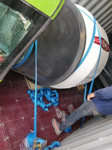 1.8cub loading mixing truck
