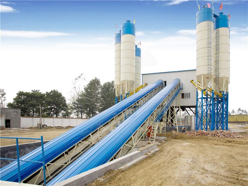 AJ-120 concrete batch mix plant for sale