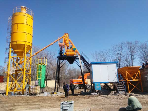AJ-25 concrete batching plant for sale