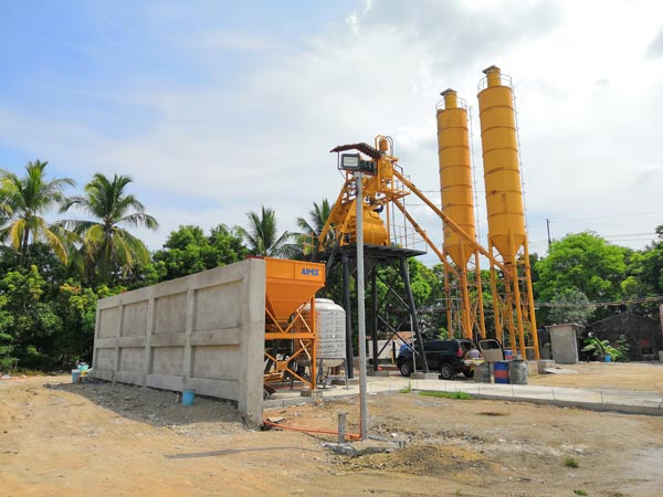 AJ-35 cement batching plant machine