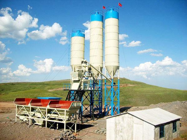 AJ-50 concrete plant for sale