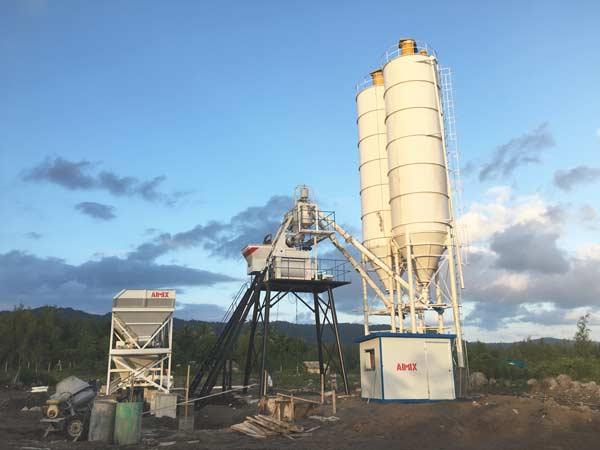 AJ-50 concrete plant sale