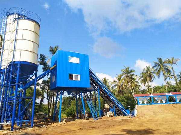 AJ-60 concrete batching plant for sale