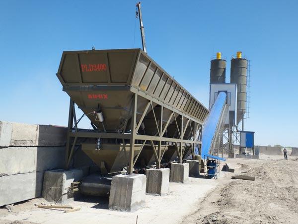 AJ-90 concrete mixing plant