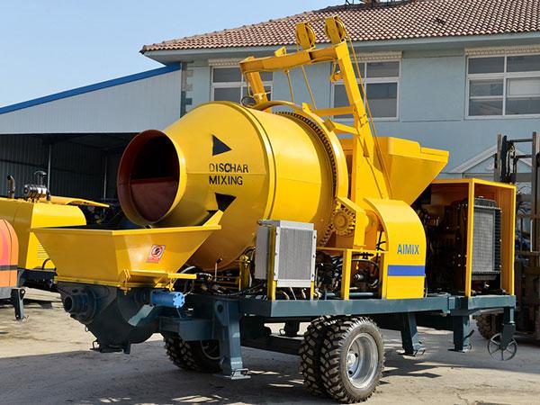 JBS30R hydraulic concrete pump