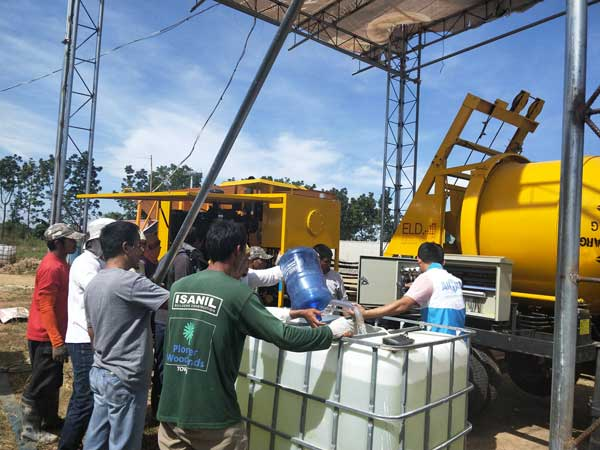 ABJZ40C hydraulic cement pump