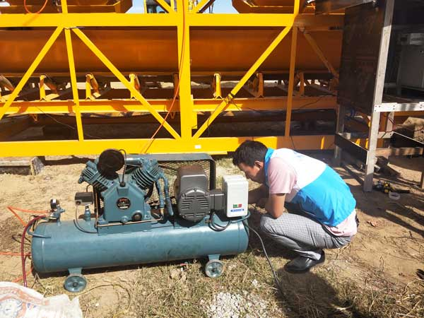 JBS40 hydraulic concrete pump for sale