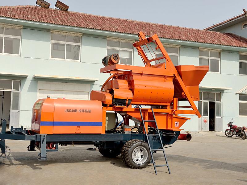 JBS40 hydraulic concrete pump machine for sale