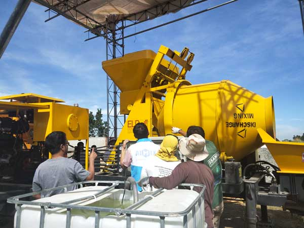 ABJZ40C hydraulic concrete pump
