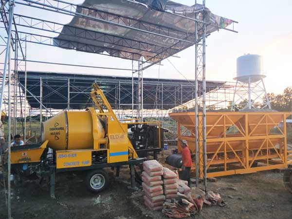 ABJZ40C hydraulic concrete pump machine