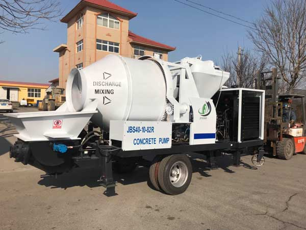 JBS40R hydraulic concrete pump