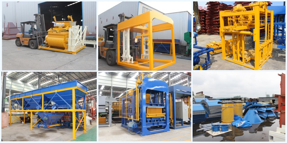 transport ABM-4S small block making machine to Philippines