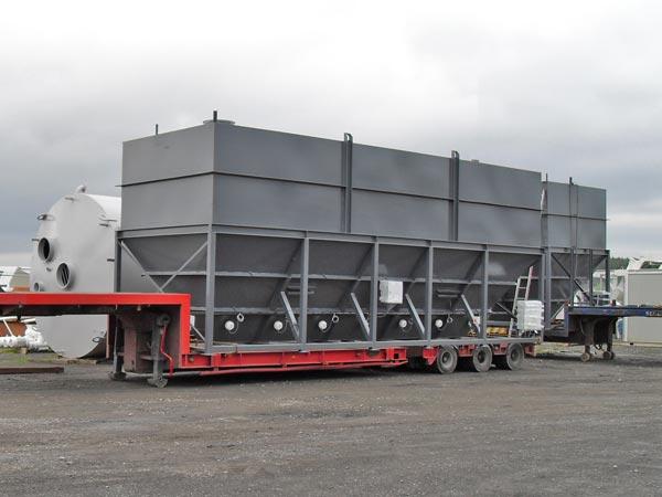 50t horizontal cement silos