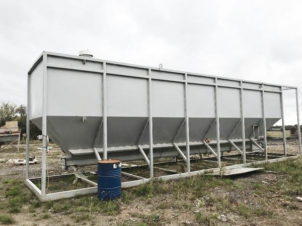 80t horizontal silo machine