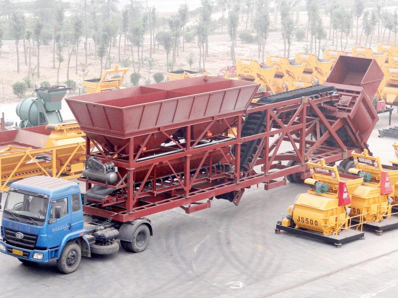 AJY-75 concrete batching plant