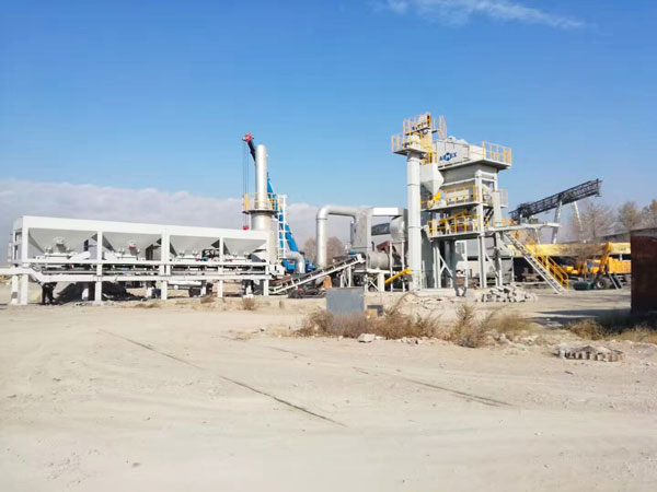 QLB80 portable asphalt plant for sale