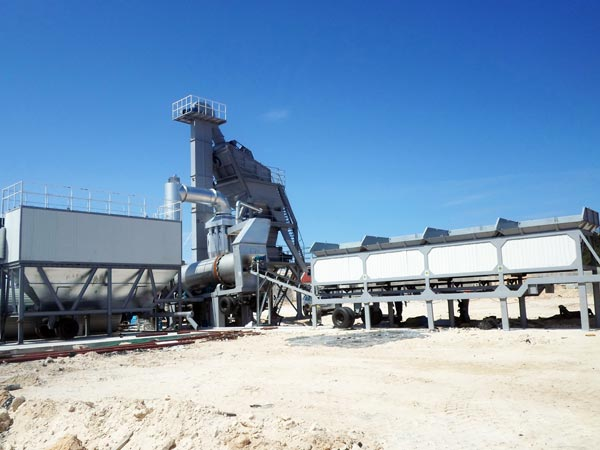 YLB1200 portable asphalt plant for sale