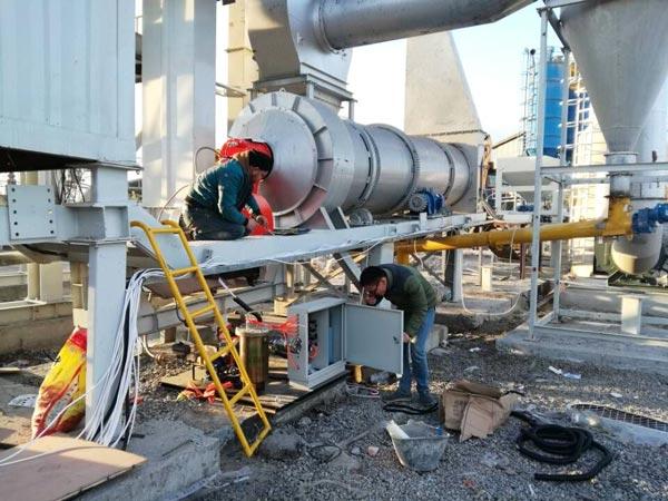 YLB800 portable asphalt mixing plant