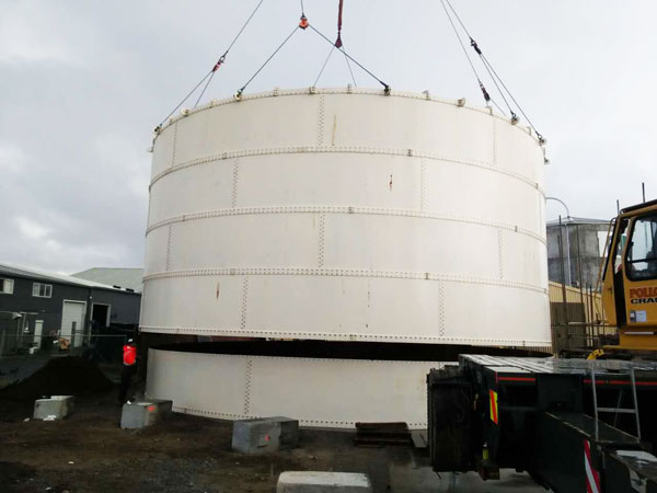 bolted cement silo machine
