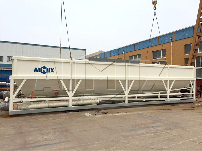 horizontal cement silo for sale machine
